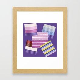 Pattern 2018 011 Framed Art Print