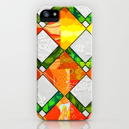 Retro Irish Diamond iPhone Case