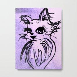 SEXY CAT2 Metal Print