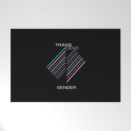 Transcend Gender Alternate Welcome Mat