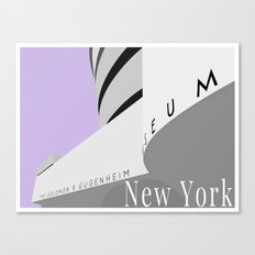 New York - Guggenheim Canvas Print