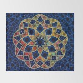 Starry Nine Throw Blanket