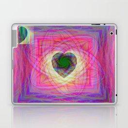 Sacred Geometry Art- Fractal Art- Abstract Art- Helix- Torus- Double Yum Laptop & iPad Skin