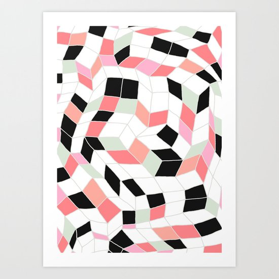 Abstract 06 Art Print