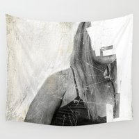 number Wall Tapestries featuring Faceless | number 03 by FAMOUS WHEN DEAD