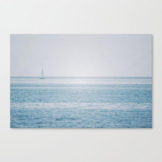 Shimmering Sea Canvas Print