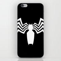 venom iPhone & iPod Skins featuring Venom by Sport_Designs