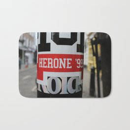 Herone '999 | London Stickers Bath Mat