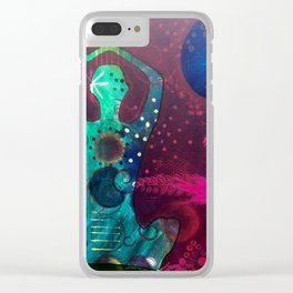 Thanks by Mary Jo Hill Clear iPhone Case