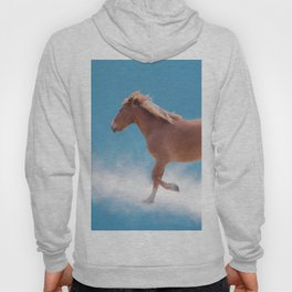 Walking on clouds over the blue sky - version #2 - #society6 #buyart Hoody