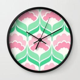 Mavis Mint Wall Clock