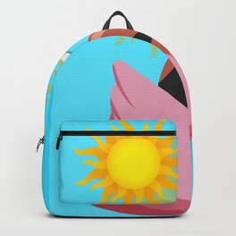 Time you enjoy wasting is not wasted time. Backpack