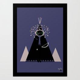 NenaApache Art Print