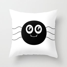 Spidy Throw Pillow