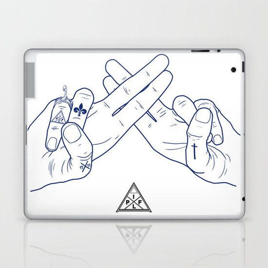 Make My Hands Famous - Part II Laptop & iPad Skin