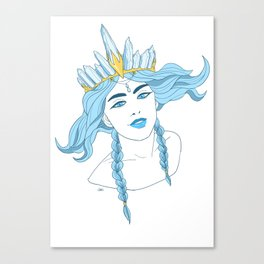 Royal Witch Canvas Print