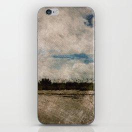 Windy Beach Day iPhone Skin