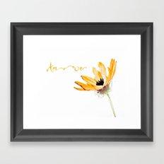 Flower Amore Framed Art Print