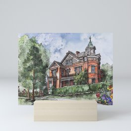 Armstrong Mansion Mini Art Print