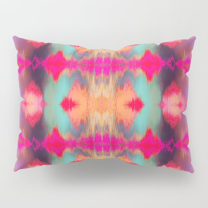 Watercolor Ikat Pillow Sham