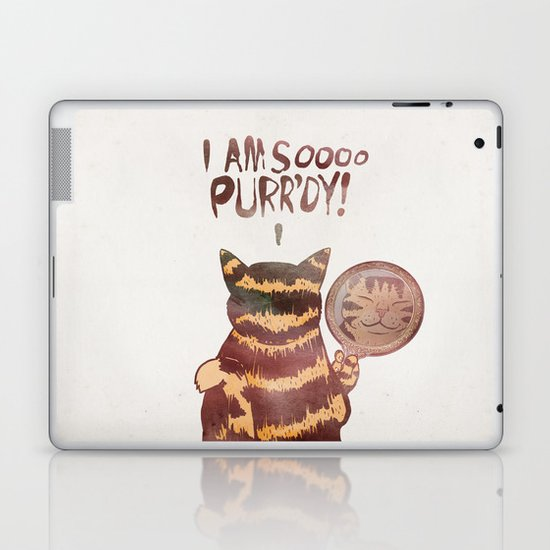 I AM SOOOO PURR'DY! Laptop & iPad Skin