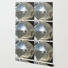 Mirrors discoball Wallpaper