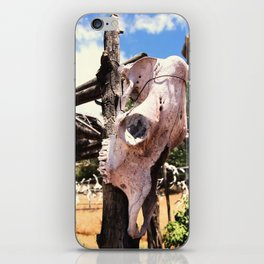 Cow Skull Ranch iPhone Skin