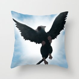 Trico Flying high Throw Pillow