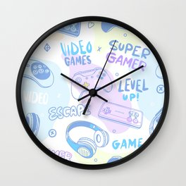 Level UP Wall Clock