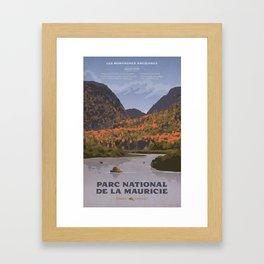 Parc National de la Mauricie Framed Art Print