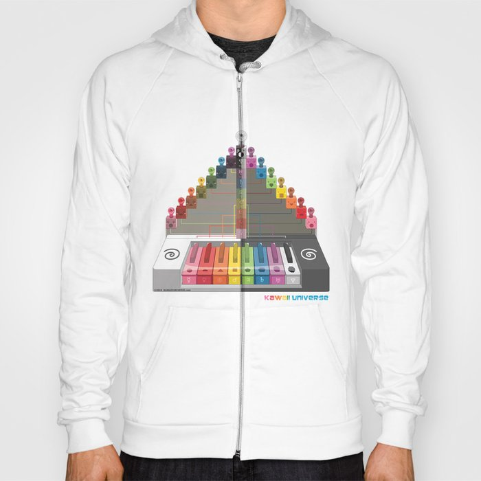 Kawaii Speak Visual : Design Digital  Hoody