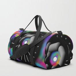 Circle and Rainbow Duffle Bag