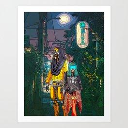 Best Friends 4ever Art Print