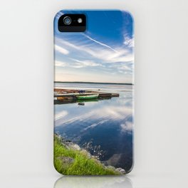 Haapslau and Baltic sea iPhone Case