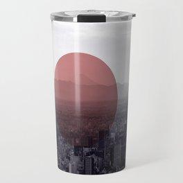 Fuji in the Distance - Remastered Travel Mug