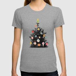 Retro Decorated Christmas Tree T-shirt