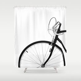 Bicycle Bike Shower Curtain