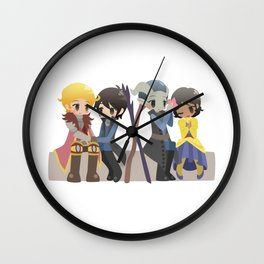 Dragon Age - Cullen, Josephine, and Inquisitors [Commission] Wall Clock