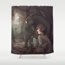 Thunderstorm Shower Curtain