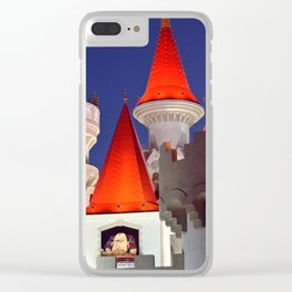 On The Vegas Strip Clear iPhone Case