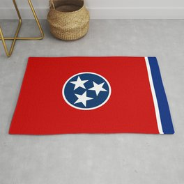 State flag of Tennessee - Authentic version Rug