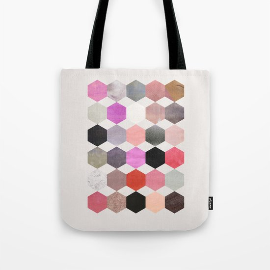 colour + pattern 26 Tote Bag