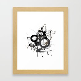 Enso Groove by Kathy Morton Stanion Framed Art Print
