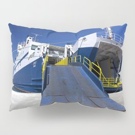 Ionian ferry Ramp Pillow Sham