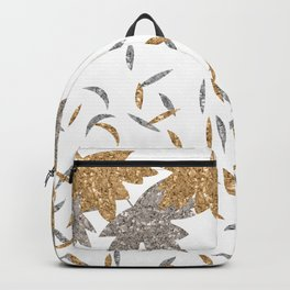 Gold 'n' Silver Fall leaves Backpack
