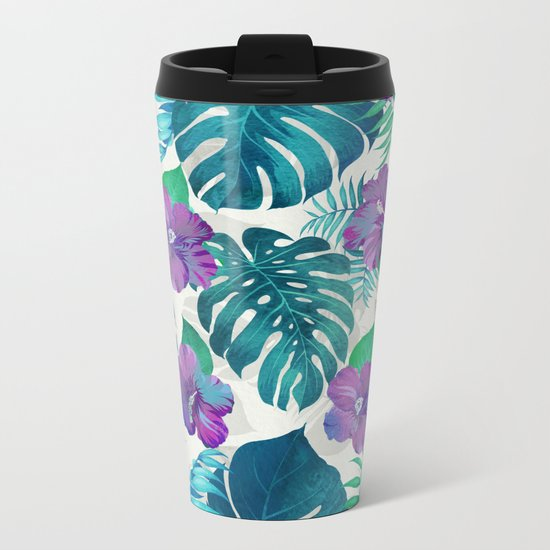 My Tropical Garden 20 Metal Travel Mug