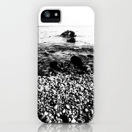 Stones at the sea iPhone Case