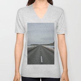 Empty Road - A Love Story Unisex V-Neck