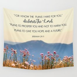Jeremiah 29:11 Wall Tapestry