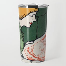 1896 Hoffman art printers Dresden Travel Mug
